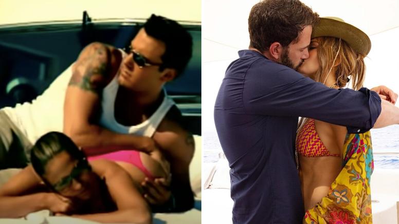 J.Lo i Affleck nakon 19 godina su rekreirali 'vruću' scenu iz spota, a fotka je već postala meme