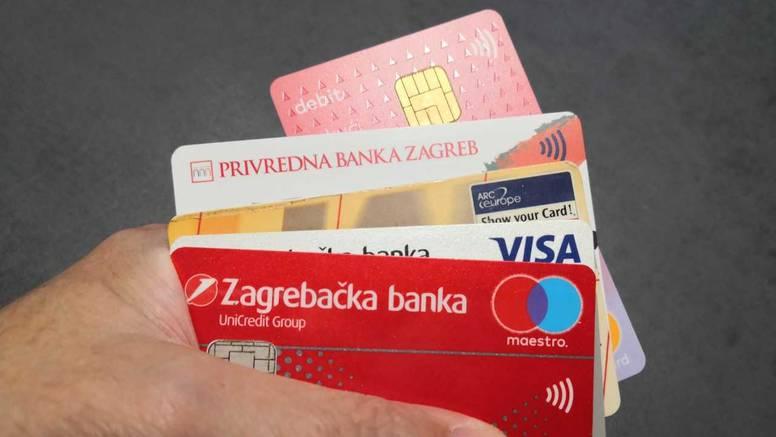 Krala bankovne kartice, oštetila je vlasnike za 50 tisuća kuna