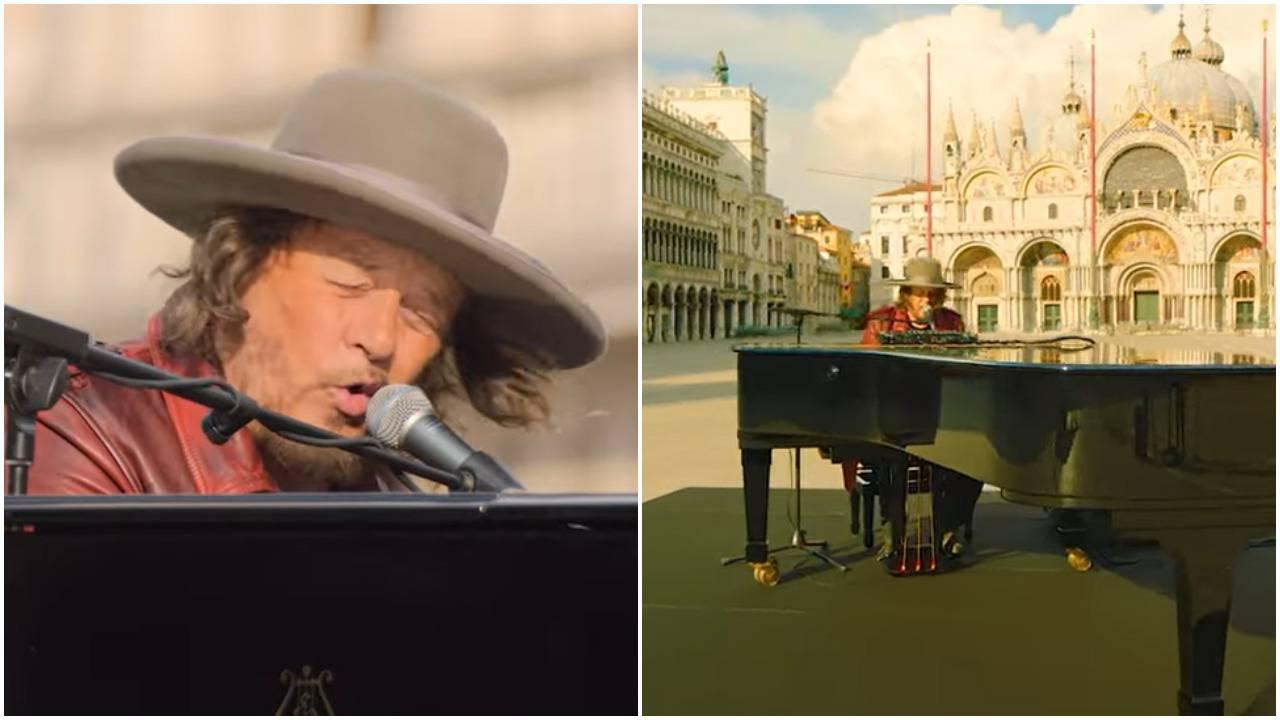 Zucchero je  pjevao ljubavi na napuštenom Trgu sv. Marka...