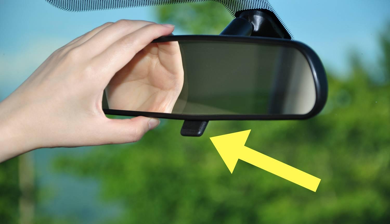 Znate li čemu služi poluga na unutarnjem retrovizoru auta?