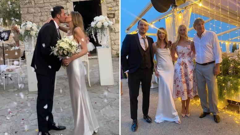 Kći hajdukovca Ivice Šurjaka udala se za zgodnog Splićanina