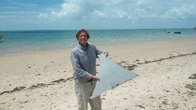 Dio nestalog MH370  pronašao bloger koji od 2014. traži avion