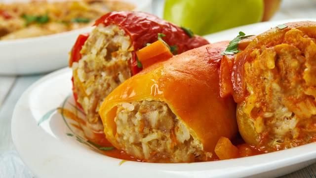 Hungarian stuffed peppers