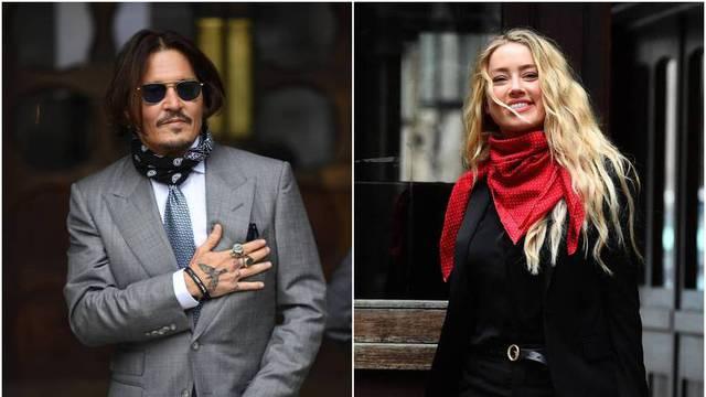 Depp izgubio na sudu: 'Nazvali su ga nasilnikom, što je istinito'