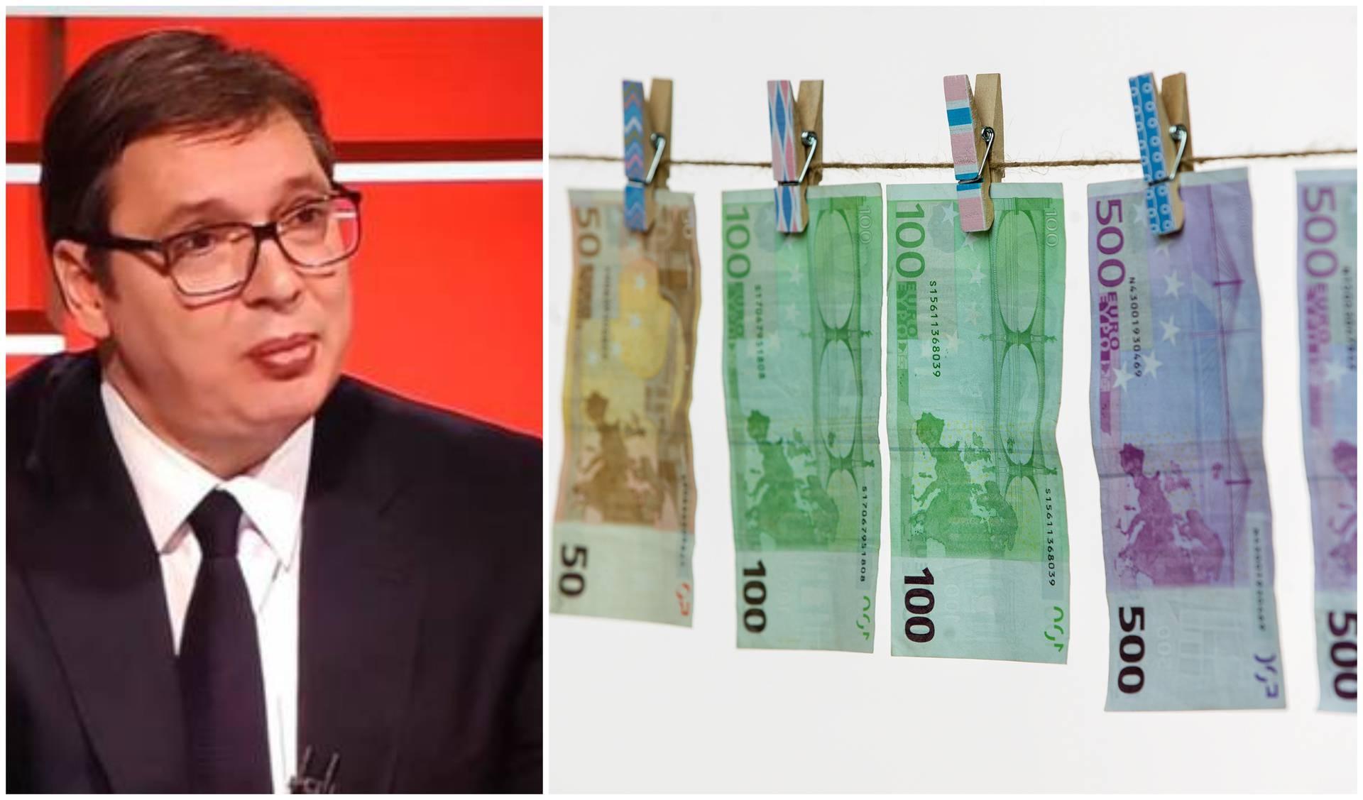 Vučić stvarno našao 'još para': Za 100 € se prijavilo više od 4 milijuna punoljetnih građana