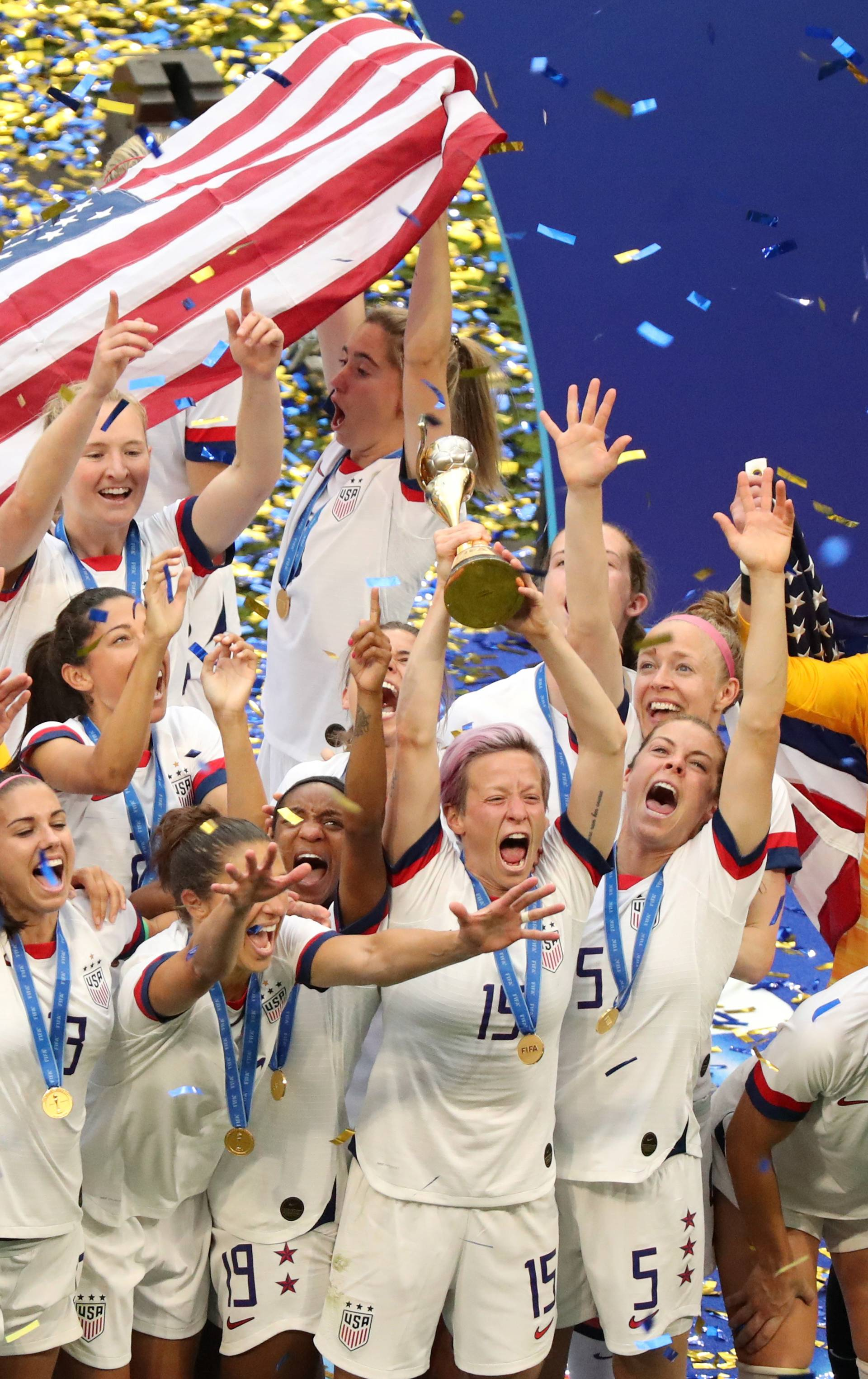 Nizozemke u suzama, vladarice nogometa su ipak Amerikanke!
