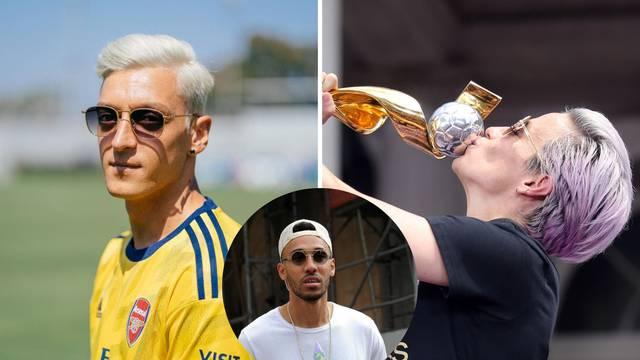 Özil postao 'plavuša', Auba mu rekao: Izgledaš kao Rapinoe...