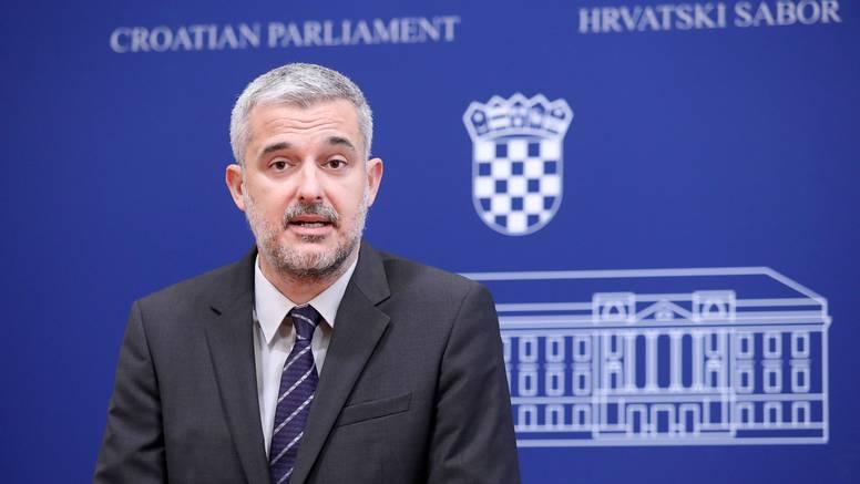 Raspudić u Saboru pozvao Pupovca da pokrene inicijativu za opoziv Davora Božinovića