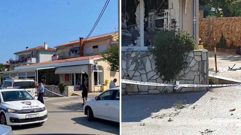 Eksplozijom raznio bankomat na Krku i opljačkao: 'Dočekala me gužva, policija, puno stakla'