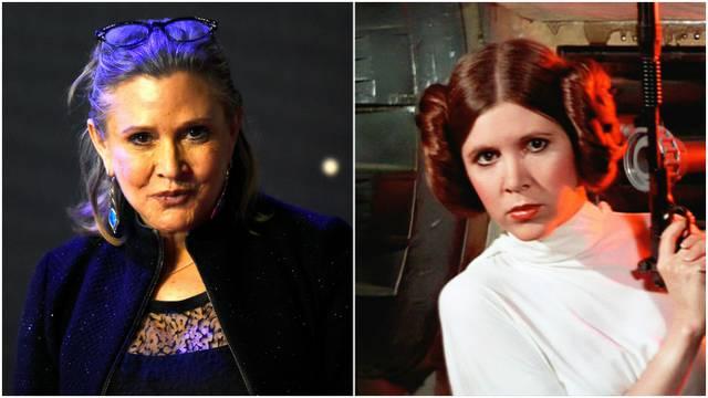 Odlazak Carrie Fisher:  U 61. godini umrla 'princeza Leia'