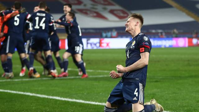 Euro 2020 Playoff Final - Serbia v Scotland