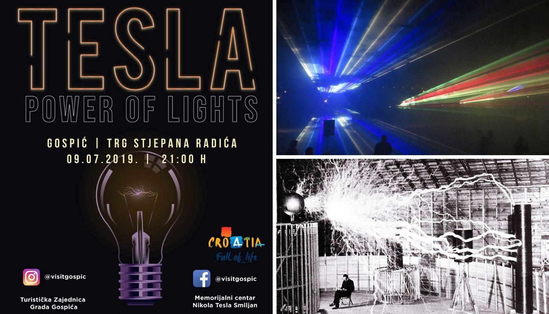 Tesla Power of Lights: Spektakl u Gospiću za Teslin rođendan