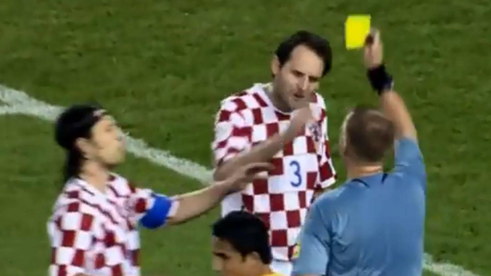 Šimunić otkrio kako je dobio tri žuta kartona: Kriv je naglasak!