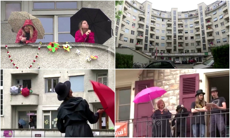 Kakvi susjedi: Svaku večer se okupljaju na balkonu i pjevaju