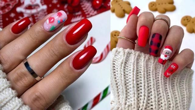 Crvena je klasik i baza za razne kreacije na elegantnim noktima