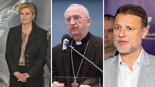 Predsjednik HBK, predsjednica i šef Sabora čestitali su Uskrs