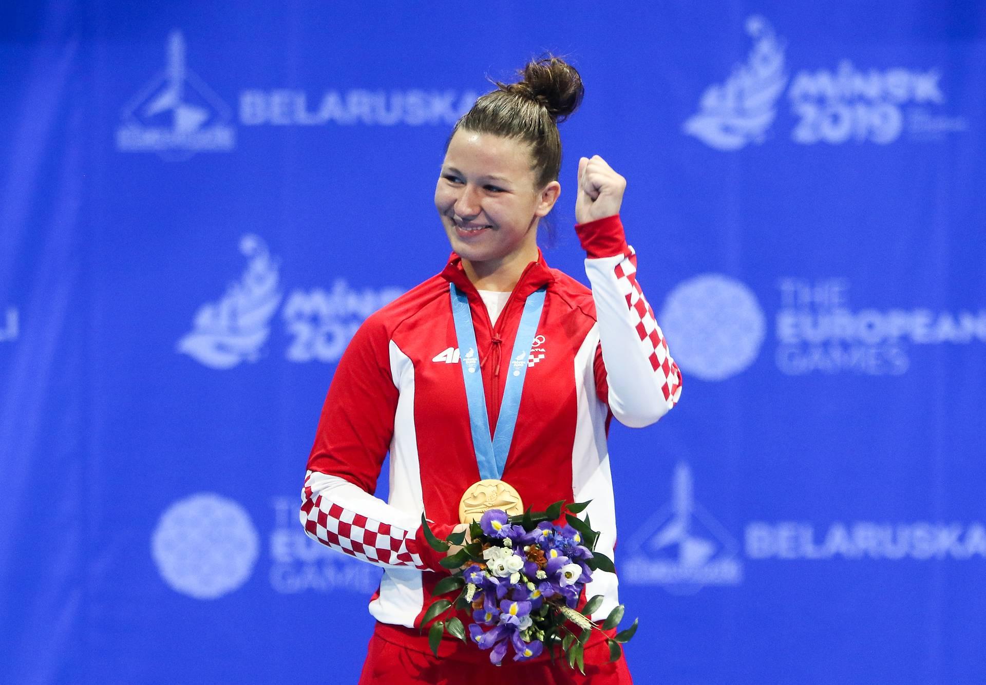Lucija Babić: Prvo zlato za Hrvatsku u sambu