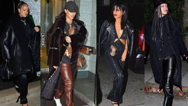Rihanna obožava kožu: Nosi je u varijantama od glave do pete