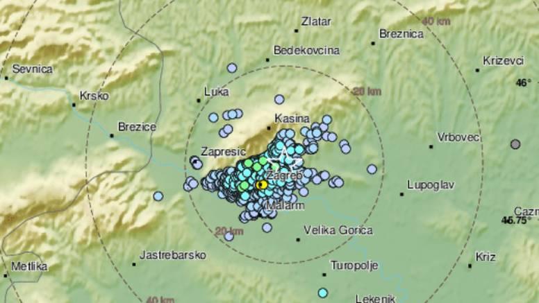 Zagreb treslo 2.3 po Richteru:  'Vratio se onaj odvratan osjećaj'