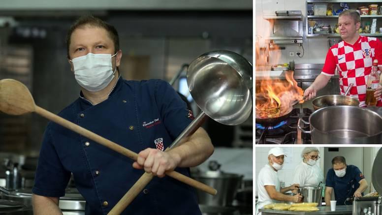 Kuhao je Vatrenima, a sad je šef kuhinje u KBC Osijek: 'Želim podići kvalitetu bolničke hrane'