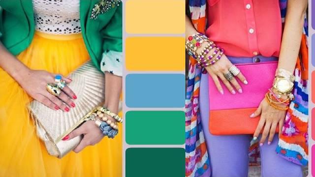 Usavršite kombinacije boja i svaki put izgledajte fantastično