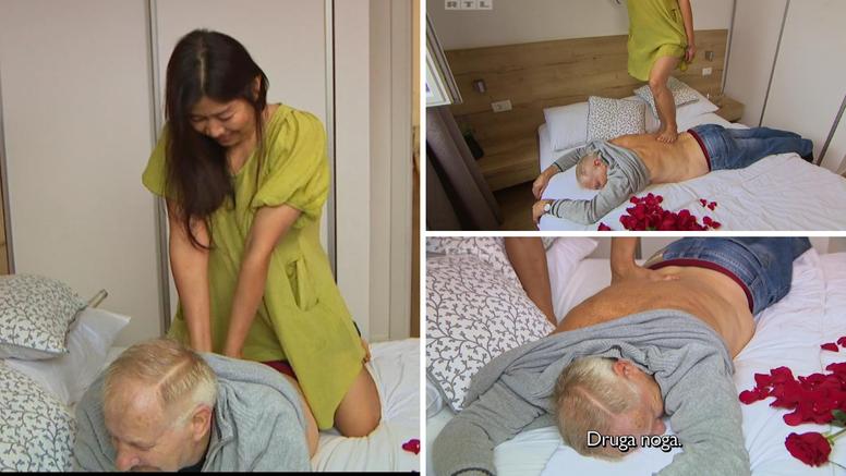 Marijanova Tajlanđanka ga masirala, on ju strasno ljubio: 'Nije me tražila nikakve pare'