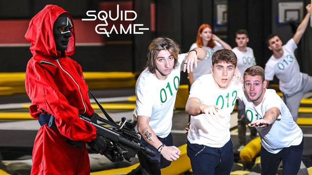 Probali su odigrati 'Squid Game' u stvarnom životu i sve snimili: 'Tko se prvi pomakne, ispada...'