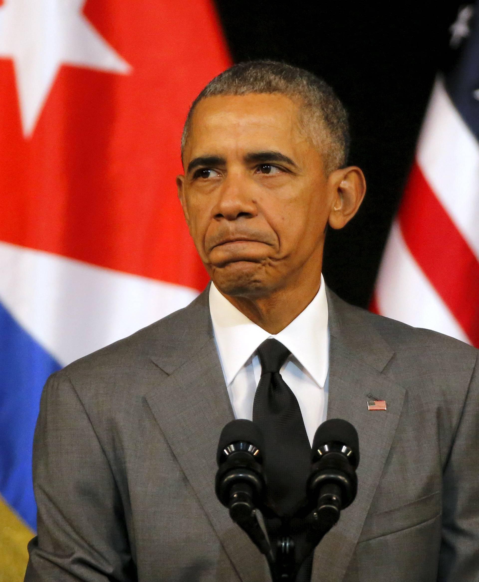 Barack Obama osudio agresivni vojni stav Moskve na Baltiku