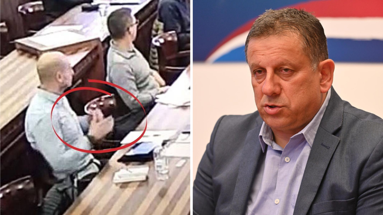 Reakcija kninskog HDZ-a na prijetnje vijećnika: Ma to je samo bezazlena kretnja rukom'