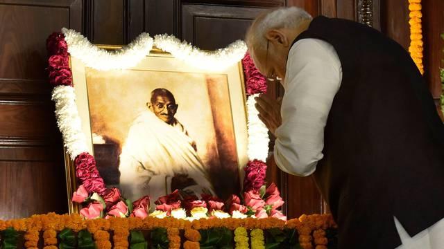 Mahatma Gandhi 149 Birthday Anniversary, New Delhi, India - 02 Oct 2018