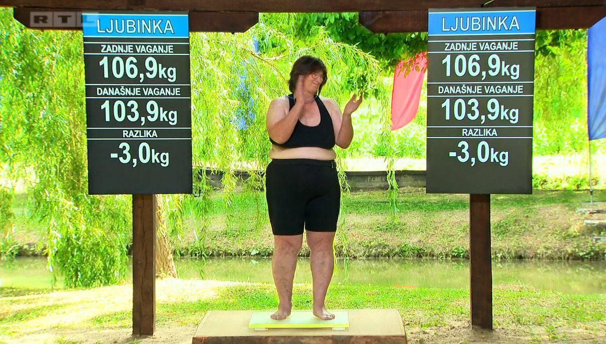 Najstarija kandidatkinja skinula tri kilograma, a nije ni trenirala
