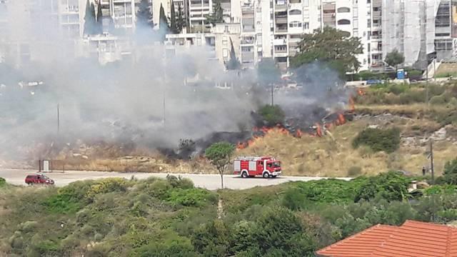 Požar u Splitu
