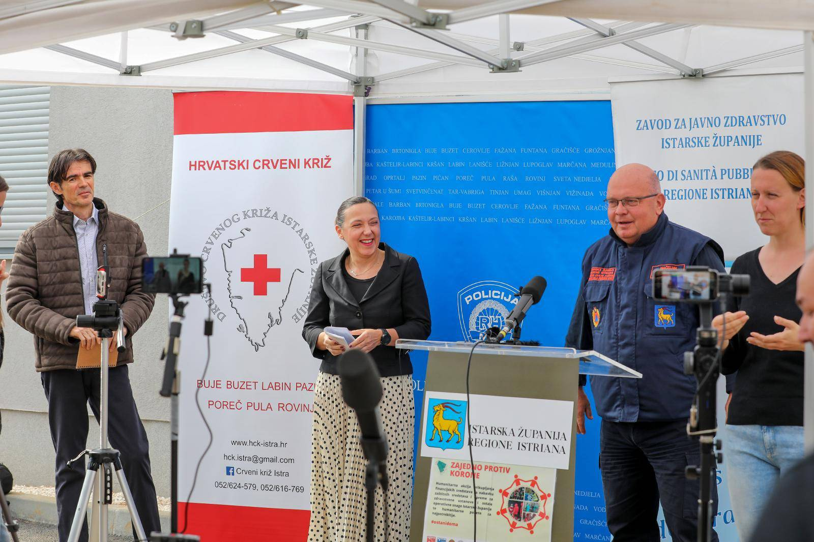 Gradonačelnici Istre uputili apel Stožeru, građanima i turistima