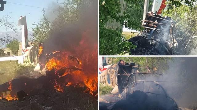 Zrakoplov se srušio kraj Zadra, dva vojnika su smrtno stradala