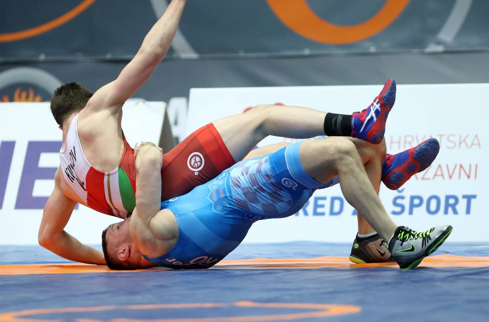Zagreb: UWW Grand Prix Zagreb Open 2019., Dominik Etlinger - Stoyan Stoychev Kubatov