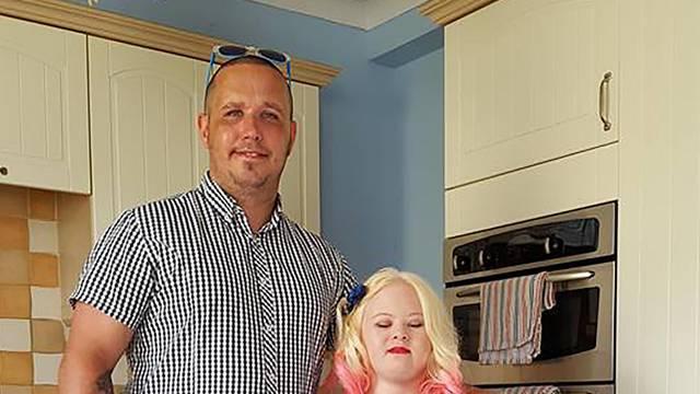 GIRL REFUSED EARS PIERCED