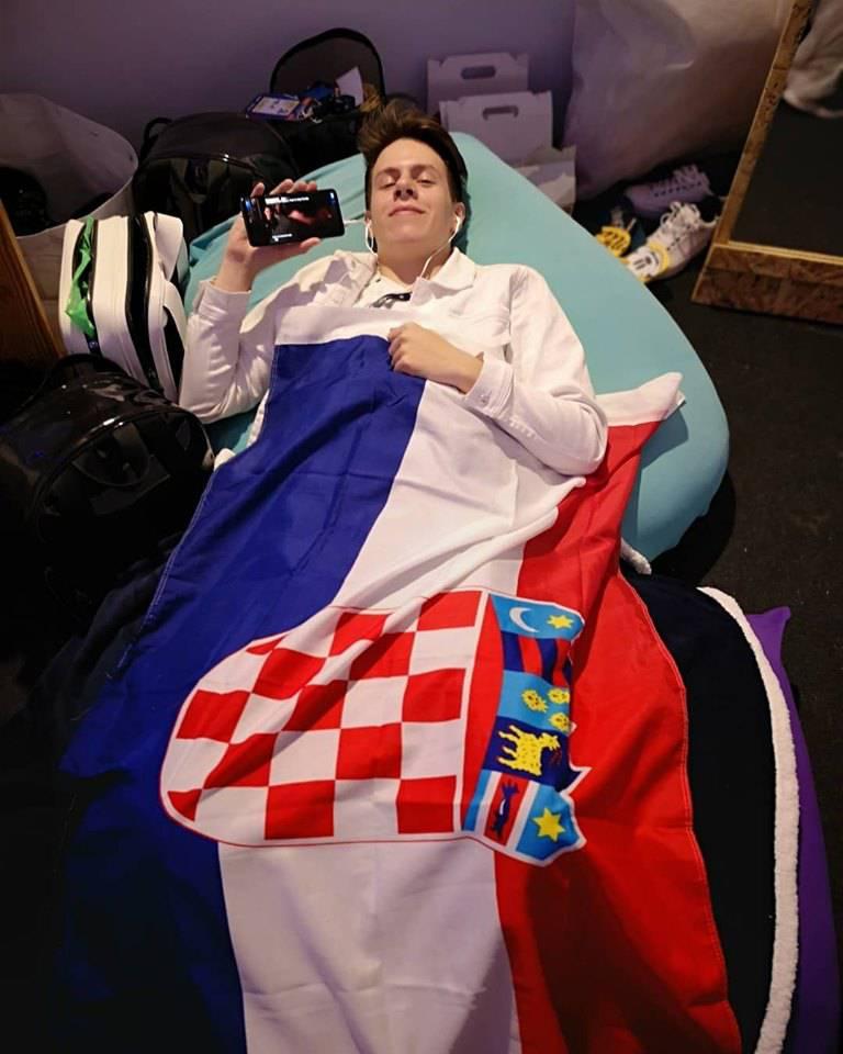Prije nastupa je gledao seriju i spavao: Ostavit ću srce na bini