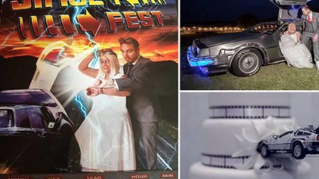 Organizirali sebi vjenčanje na temu 'Povratka u budućnost'