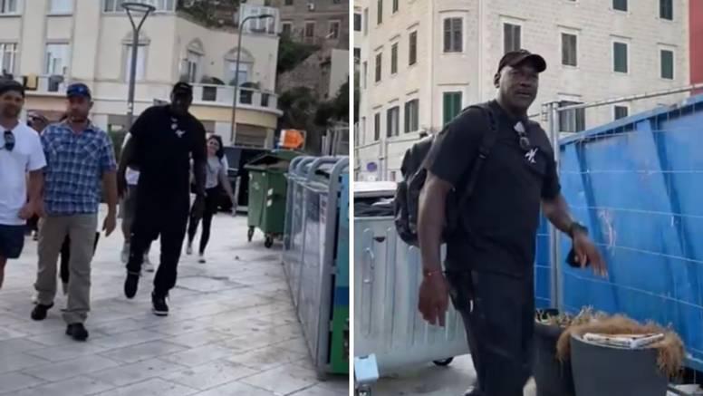 VIDEO Michael Jordan u Splitu! Ukrcao se na jahtu čiji tjedni najam košta čak milijun eura