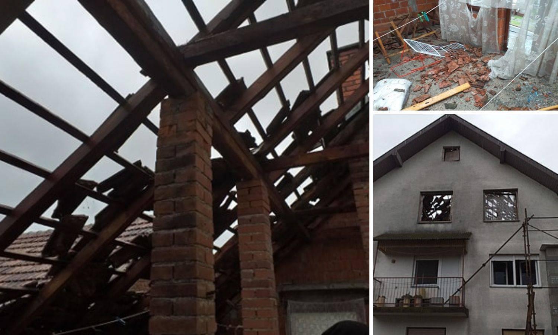 Udar groma probio krov i izbio prozore dok je dijete bilo u sobi