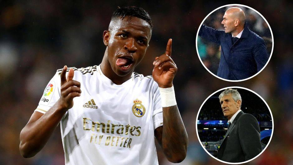 Setien: Trka za titulu još traje; Zidane: Vinicius je zaslužio gol