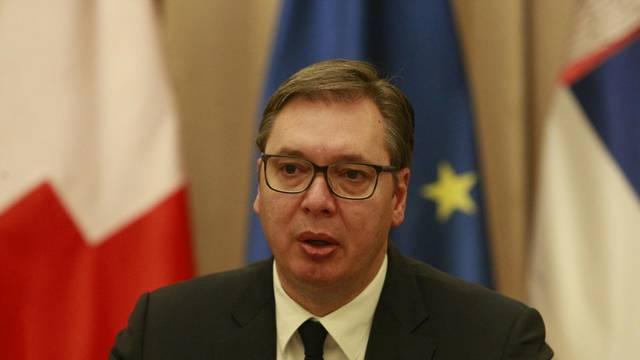 Beograd: Sastanak Aleksandra Vučića i predsjednice Nacionalnog vijeća Švicarske Isabelle Moret