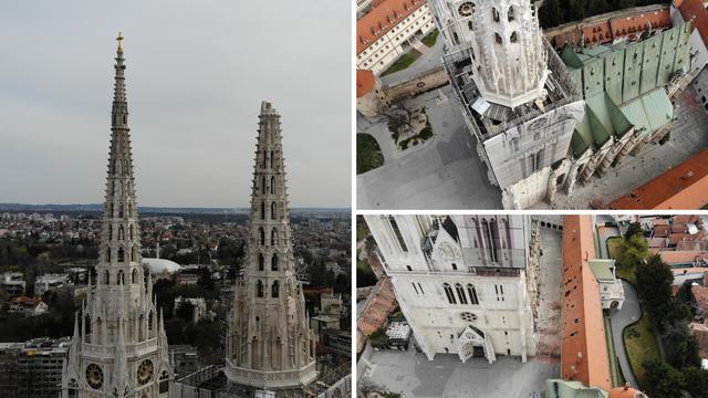 Potres uništio toranj: 'Križ je simbol vjere i pobjede. I pao je'