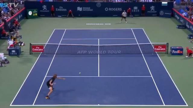 Spašavanje meč lopte u kojem je sažeta cijela ljepota tenisa