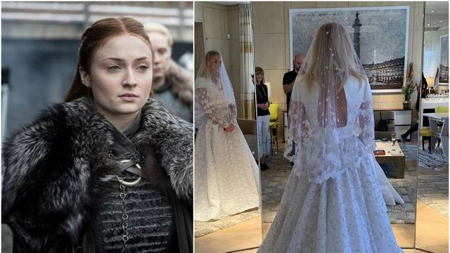 Sophie Turner je objavila fotku vjenčanice: Wow, oduzima dah!