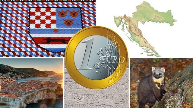ANK€TA Kako će izgledati naša kovanica eura? Možete birati: Šahovnica, glagoljica, kuna...