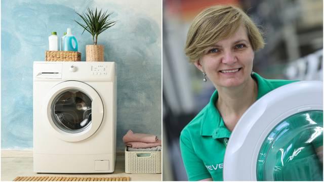 Kod kupnje perilice rublja važno je i koliko ste visoki - evo zašto