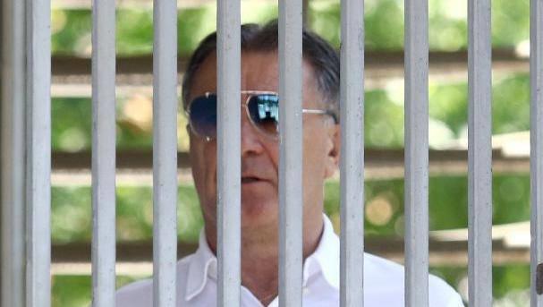 Sarajevo: Zdravko Mamić u pratnji odvjetnika napušta zgradu suda