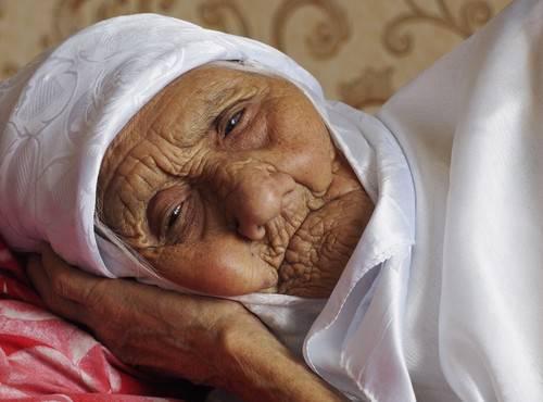 Russia's 120-year-old Tanzilya Bisembeyeva