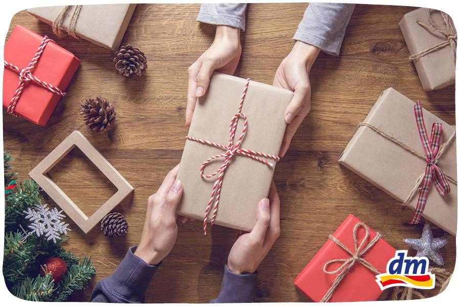 Veliki blagdanski popust na sve poklon pakete u dm-u